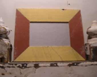 RECLAIMED WOOD Picture Frame 4x6 Shabby Recycled Chic s1991