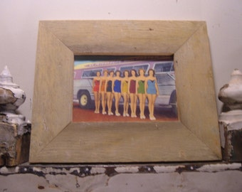 RECLAIMED WOOD Picture Frame 5x7 Shabby Recycled Chic s2005