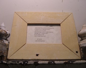 RECLAIMED WOOD Picture Frame 4x6 Shabby Recycled CHIC s2046
