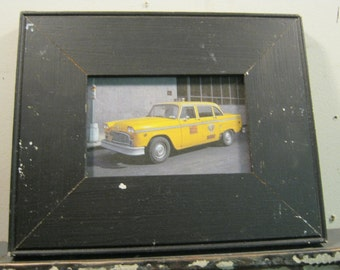 Reclaimed Wood Salvaged Picture Frame 4x6 NY- Salvage S-177