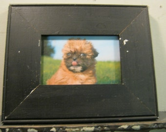 Reclaimed Wood Salvaged Picture Frame 4x6 NY- Salvage S-178