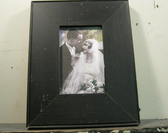 Reclaimed Wood Salvaged Picture Frame 4x6 NY- Salvage S-181