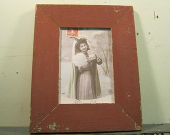 Reclaimed Wood Salvaged Picture Frame 5x7 NY- Salvage S-187