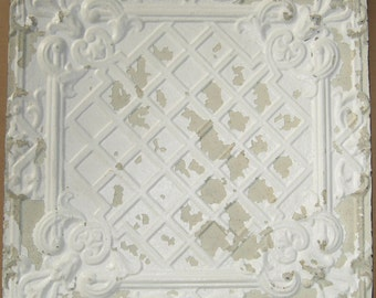AUTHENTIC Tin Ceiling Decorative Panel RECLAIMED S 383