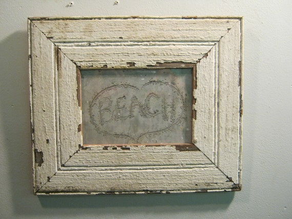 SHABBY ARCHITECTURAL Chic Salvaged Recycled Wood Photo Picture Frame 5x7 S 512-12