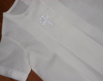 Boys or Girls Pleated Bubble for Christening or Blessing