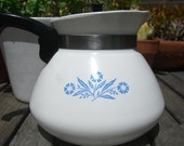 Mom's Vintage Corning Ware 6 Cup Coffee Pot