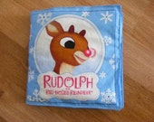 Cloth Book Rudolph the Red Nosed Reindeer