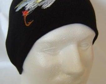 Supervisor Fishing Fly Lure Beanie Skullcap Hat