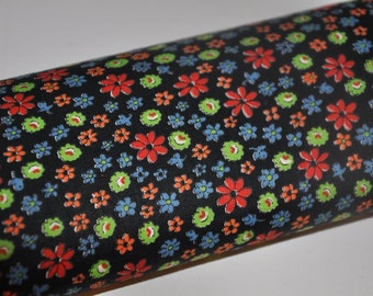 Daisy Patch - Vintage Fabric Mod Juvenile 60s 50s New Old Stock 36 in wide