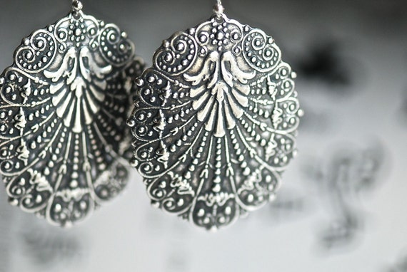 Kaladriel Earrings - Solid Sterling Silver .925 Ear Wire - MADE IN USA Components