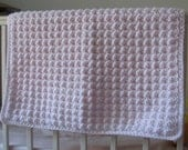 Bubble Textured Baby Afghan Crochet Pattern