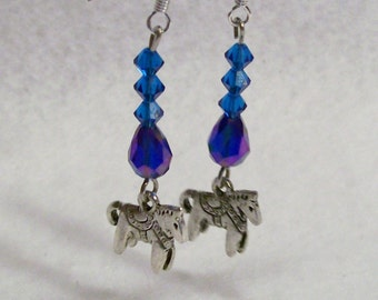 Save Now Were 7.00 Horse Charmed Earrings