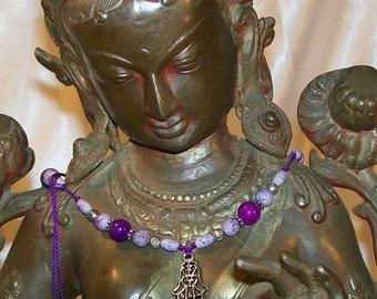 Spiritual Fashion Statement Hamsa  YAD HA'CHAMESH The hand of five