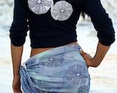 Sea Urchin Organic Cotton Scarf