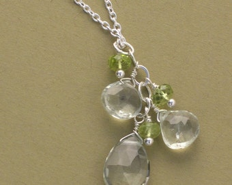 Lima Cluster Necklace