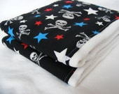 American Skulls Burp Cloths (Set of 2)