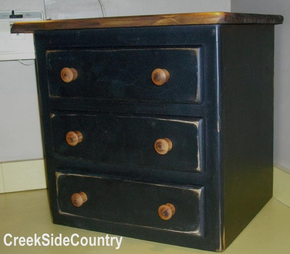 Items similar to Primitive Wood Extra Large COFFEE MAKER COVER - stained top on Etsy