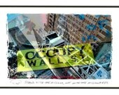 Stand with the Millions ... orig. NYC OWS foto postcard