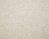 Echino cotton/linen fabric - 1/2 yard of natural Echino solid