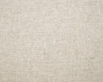 Echino cotton/linen fabric - 1/2 yard of natural Echino solid