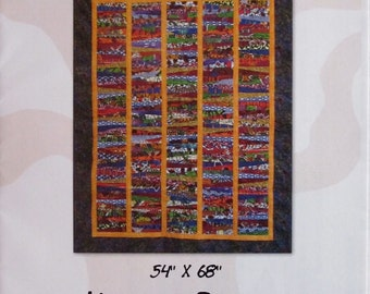 Quilt Pattern - Five Part Harmony wall hanging