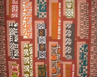 Patchwork Quilt - African Shadowbox