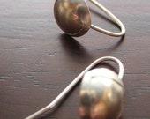 Simple Sterling Silver Earrings