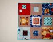Boxed In Modern Baby Quilt