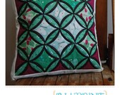 Cathedral Window Pillow Pattern by Bluprint Textiles