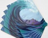 Apres Moi Le Deluge - Jonny Ruzzo Large Sticker