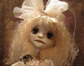 ANNA and her SPIDER.....A Ghost Child Kindred...Whimsical OOAK Art Doll by BARTONORIGINALS