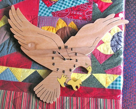 Wall Clock - American Eagle - battery operated