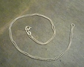 SALE -- 20 inch Sterling Silver Ball Chain 1.2 mm