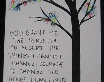 The Serenity Prayer Tree