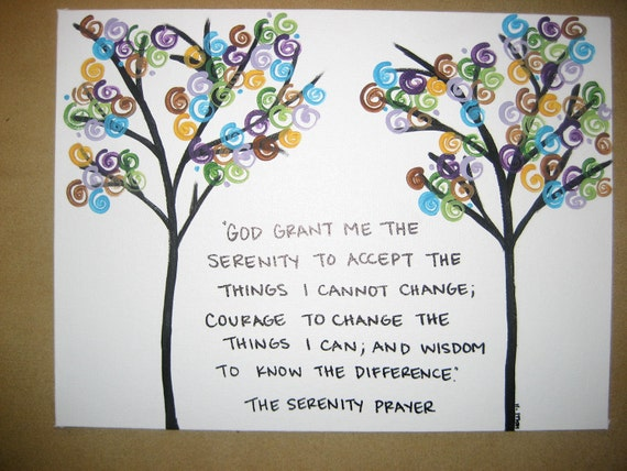 The Serenity Prayer Trees