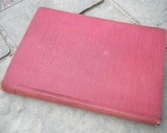 Antique Association Hymn Book 1904