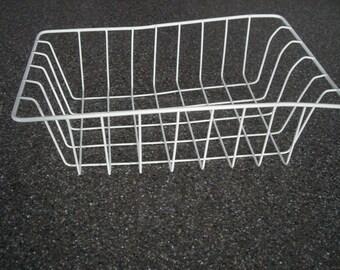 White Wire Vintage Basket