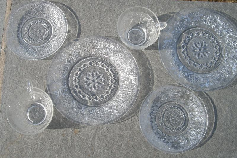 Depression glass replacement pieces
