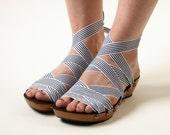 Size 7 - Low Cherry Peeptoe RTW Mohop Shoes