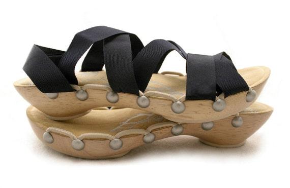 Size 6 - Low Maple Peeptoe RTW Mohop Shoes