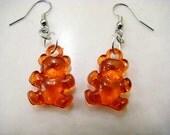 Red Gummi Bear Earrings