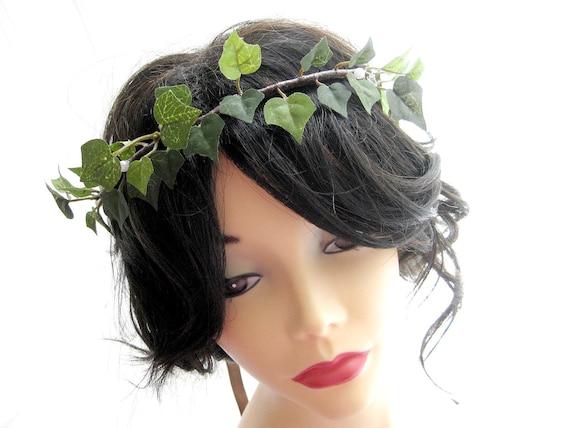 IVY  hair wreath headband