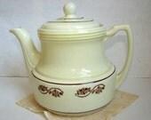 Porcelier Teapot 1940s Eight Cup