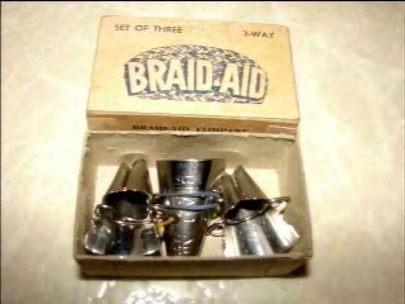 Antique Braid Aid Rug Braiding Tools Boxed Set