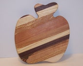 Apple Cheese Cutting Board