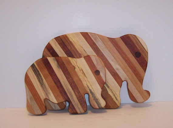 Elephant Pair Cutting/Cheese Boards