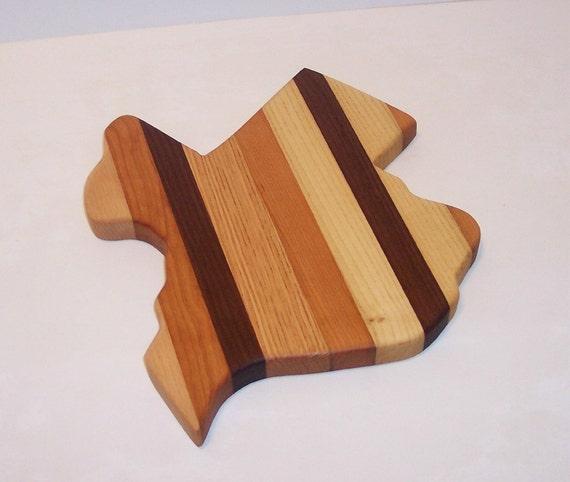 TEXAS Cheese Cutting Board