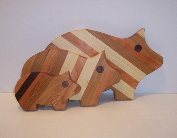 PIG Cutting Board Set of 3