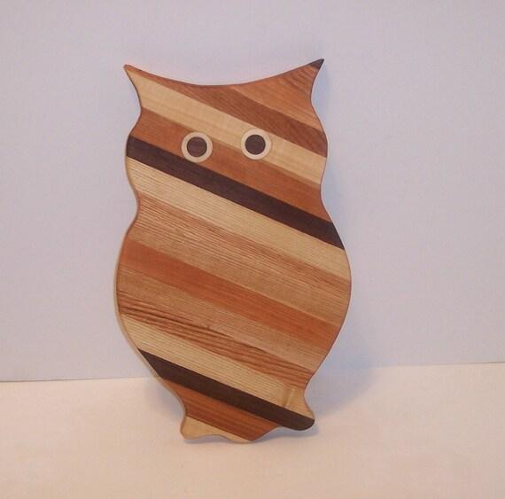 Big OWL  Cutting Board